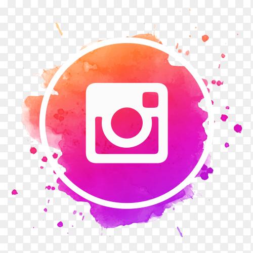 Beautiful Instagram logo social media icon PNG