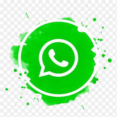 Beautiful WhatsApp logo icon PNG