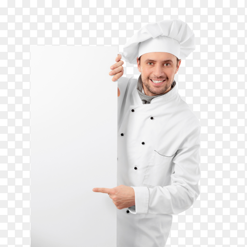 Cook with billboards PNG