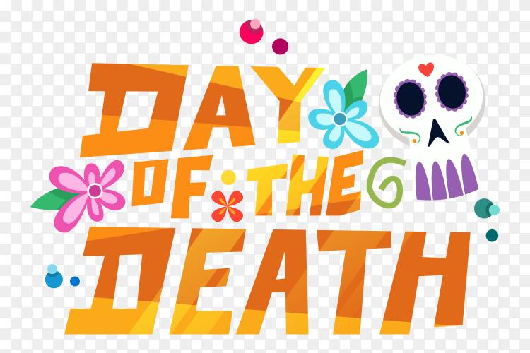 Dia de muertos doodle decoration PNG