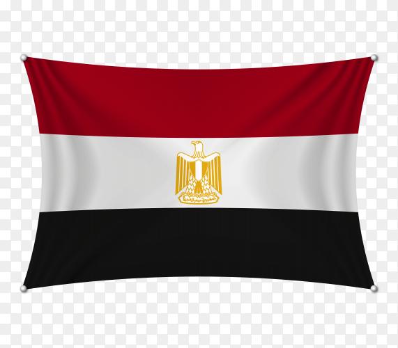 Egypt flag transparent PNG