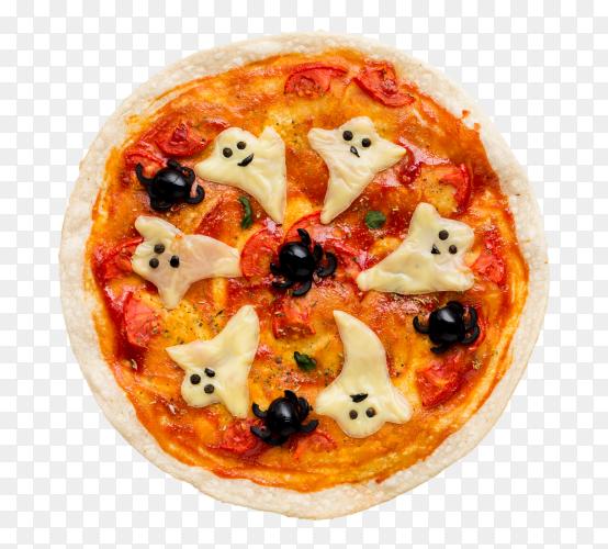 Halloween pizza PNG