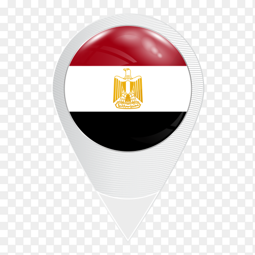Locations icon Arab Republic of Egypt flag PNG