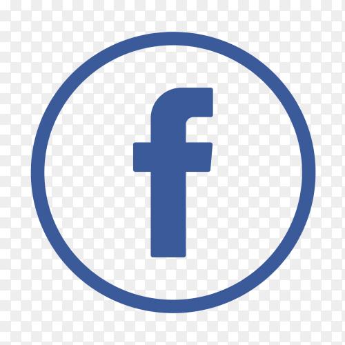 Popular logo facebook icon PNG