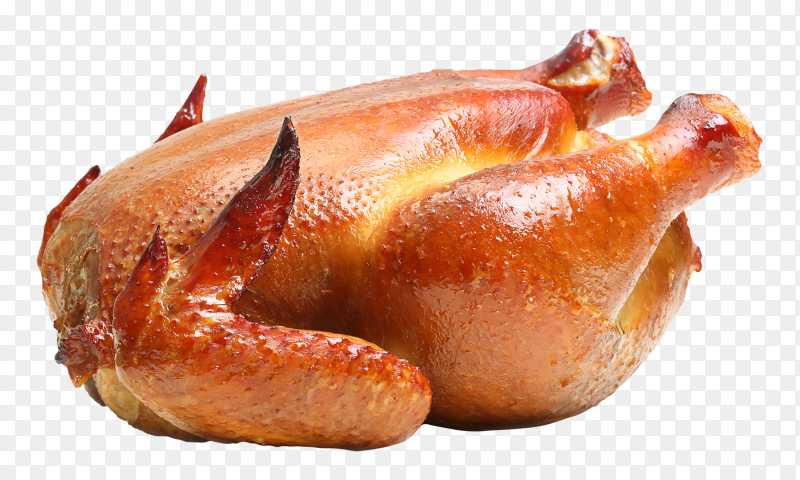 Roast chicken transparent PNG