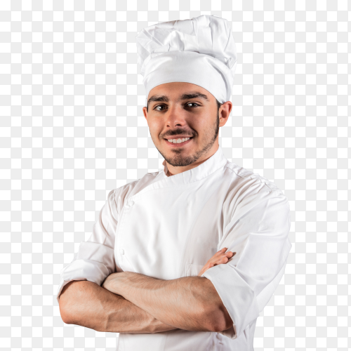 Smiling Cook PNG