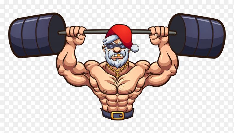 Strong santa PNG
