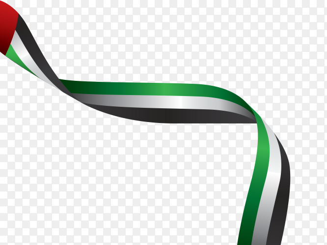 UAE – United Arab Emirates flag PNG