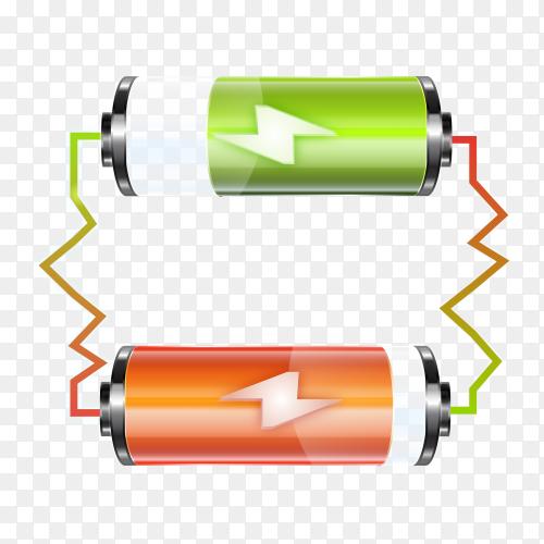 Batteries PNG