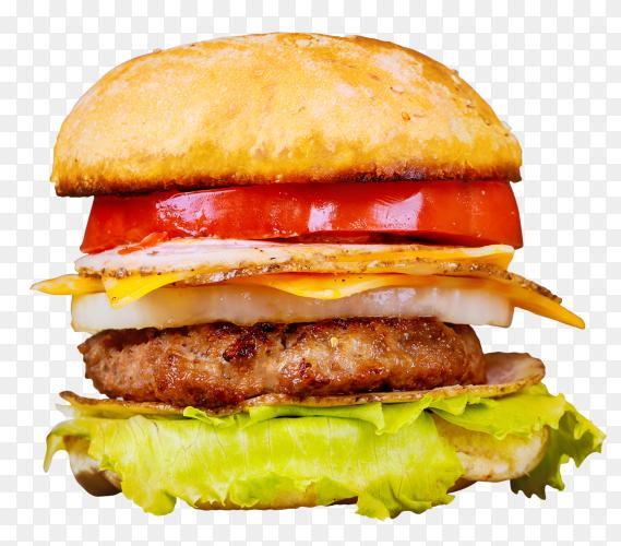 Cheeseburgers beef patties fresh salad transparent PNG