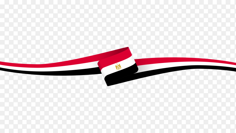 Flag Egypt design PNG