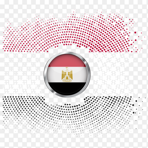 Gradient of the flag of Egypt PNG