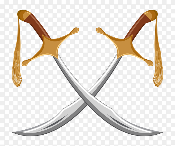 A pair of swords PNG