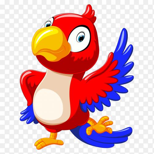 Happy parrot dancing PNG