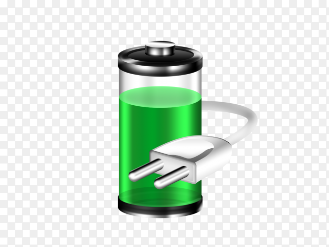 Full energy battery charge PNG