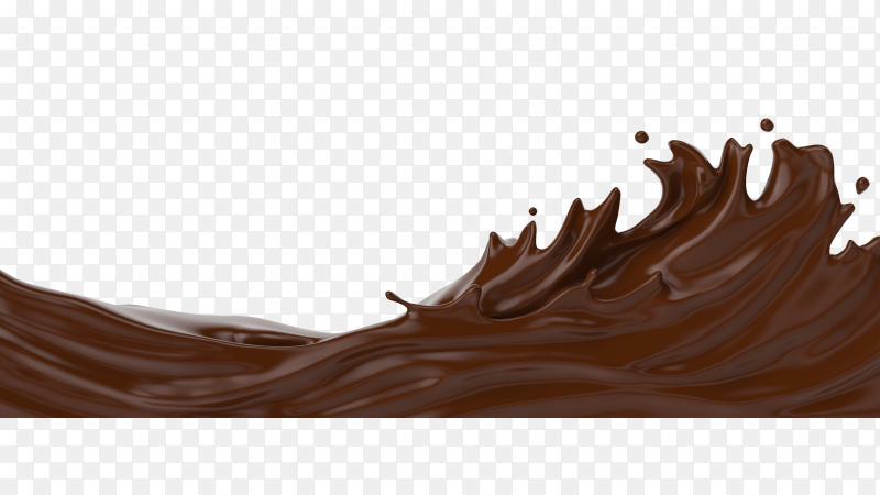 A splash of chocolate PNG