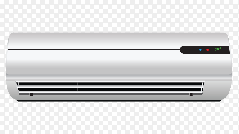Air conditioner vector PNG