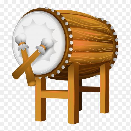 Bedug drum eid al fitr clipart PNG