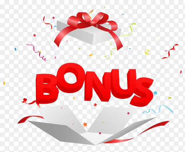 Bonus out gitf box clipart PNG