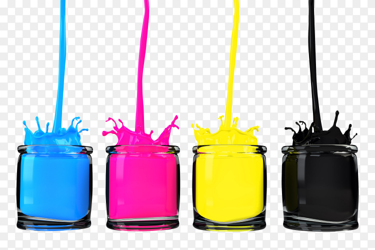 CMYK colors PNG
