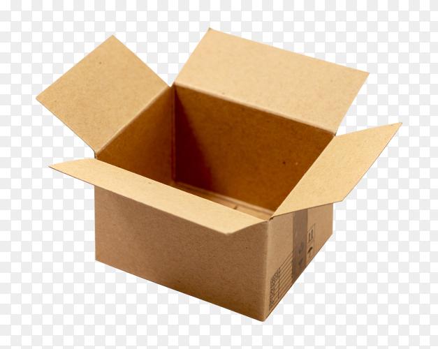 Cardboard box transparent Photo PNG