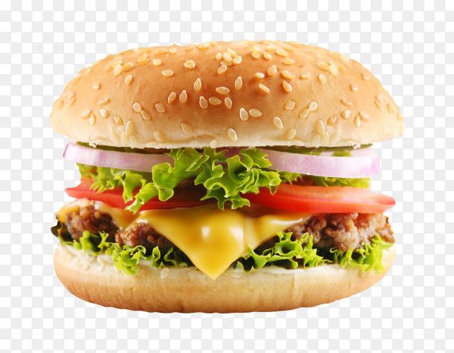 Cheeseburger premium image PNG