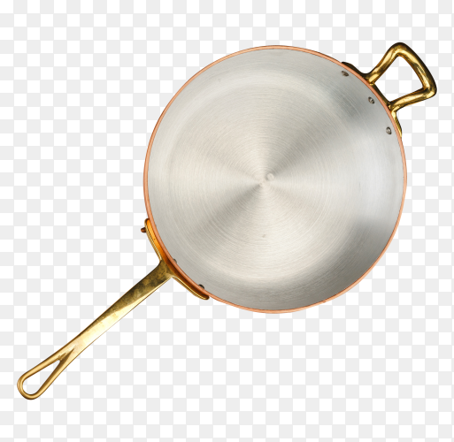 Copper frying pan PNG