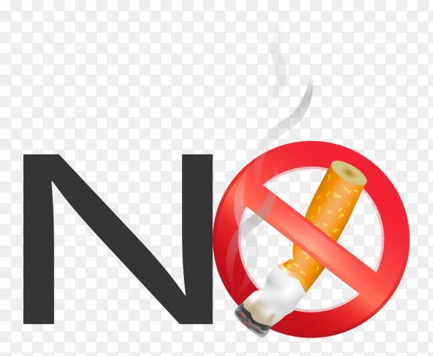 Crushed cigarette transparent background PNG