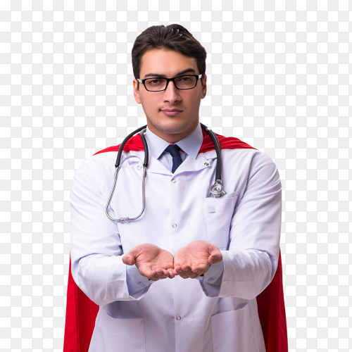 Doctor super hero transparent PNG