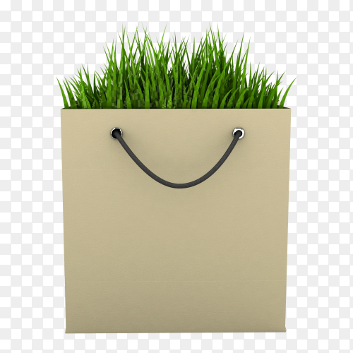 Eco Shopping Bag image transparent PNG