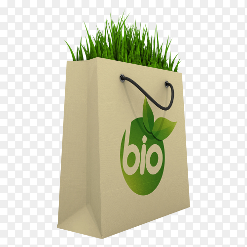 Eco friendly Shopping Bag transparent PNG