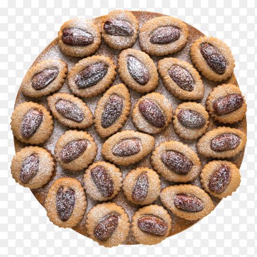 Eid dates sweets, kahk el eid Premium image PNG