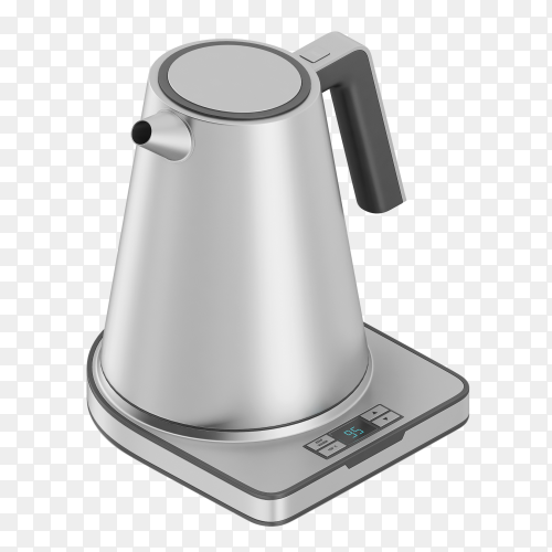 Electric kettle PNG
