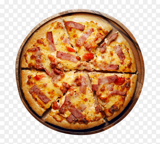 Fresh tasty pizza PNG