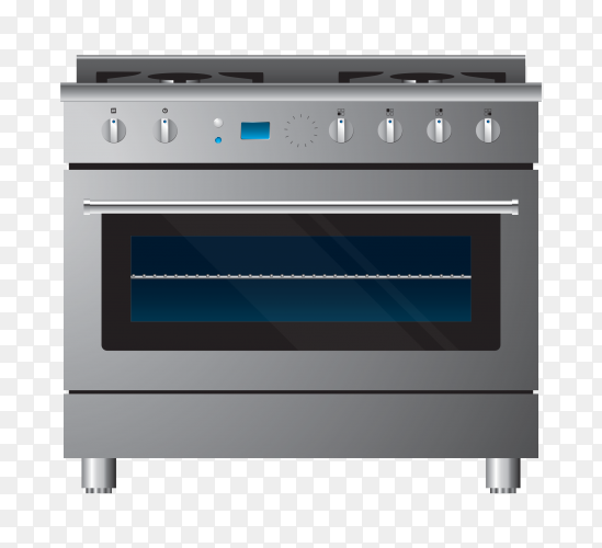 Gas oven – stove clipart PNG