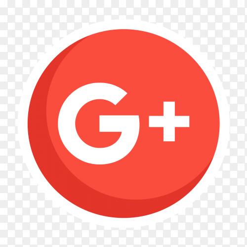GooglePlus logo vector PNG