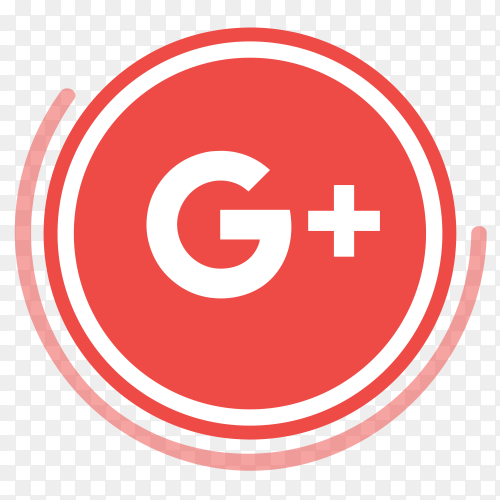 Googleplus logo in circles PNG