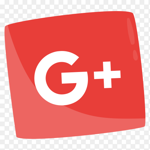 Gradient GooglePlus logo social media icon PNG