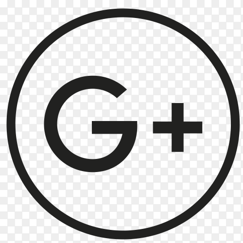 Icon GooglePlus In circle PNG