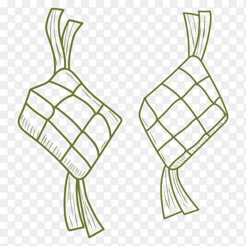 Ketupat transparent PNG