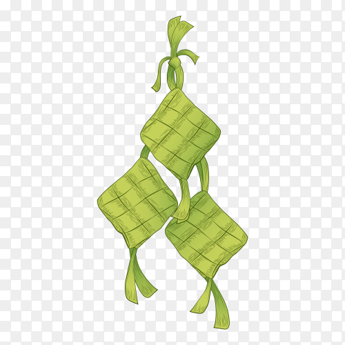 Ketupat transparent background PNG