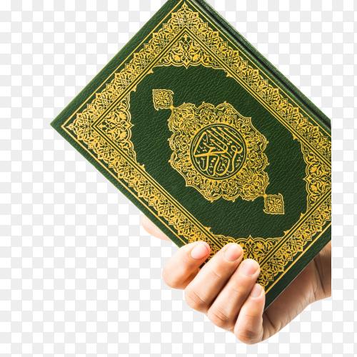Koran – holy book of muslims PNG