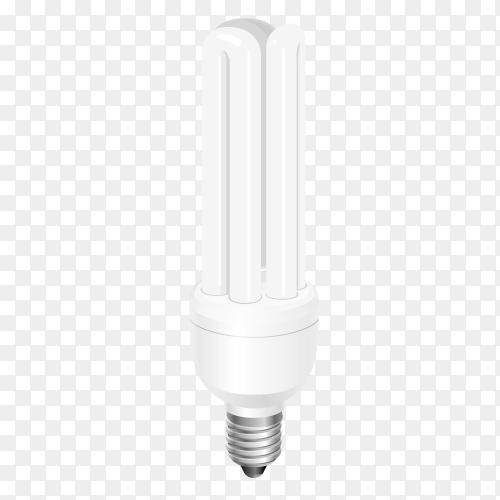 Light bulb vector PNG