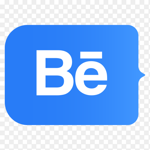 Logo Behance lower thirds PNG