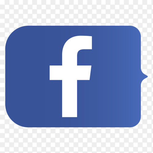 Logo Facebook lower thirds PNG