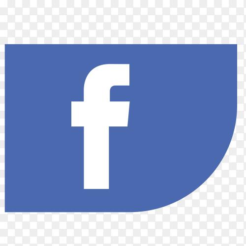 Logo Facebook ribbon PNG
