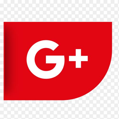 Logo Googleplus ribbon PNG