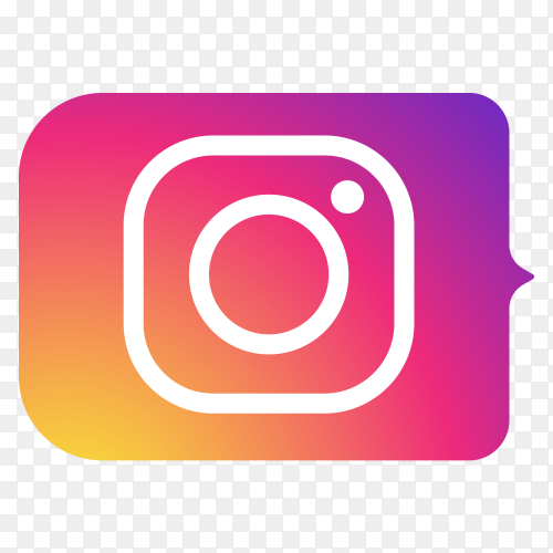 Logo Instagram lower thirds PNG
