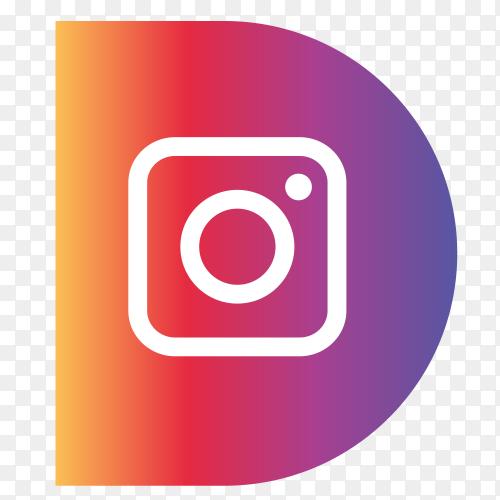 Logo Instagram sidebar PNG