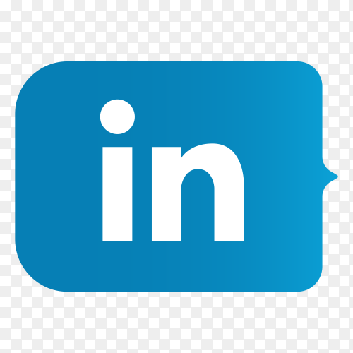 Logo Linkedin lower thirds PNG